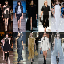 Best of Paris Fashion Week Spring 2015 Alexander McQueen Anthony Vaccarello Balenciaga Celine Christian Dior Givenchy Lanvin Loewe Louis Vuitton Rick Owens