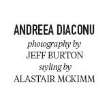 Andreea Diaconu Last Magazine
