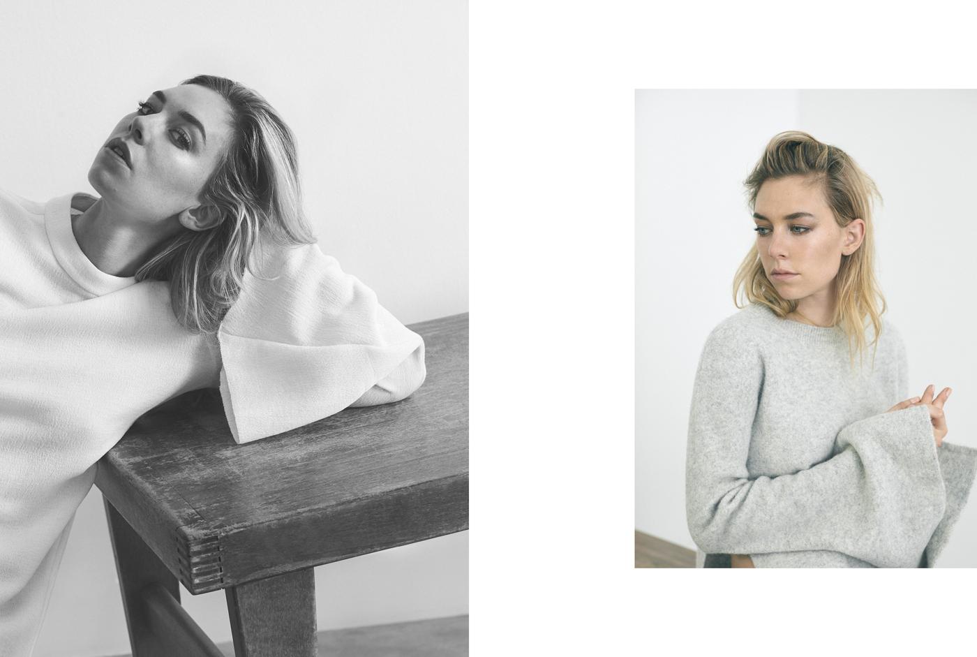 Left: Top by Ellery.Right: Sweater by Ellery.