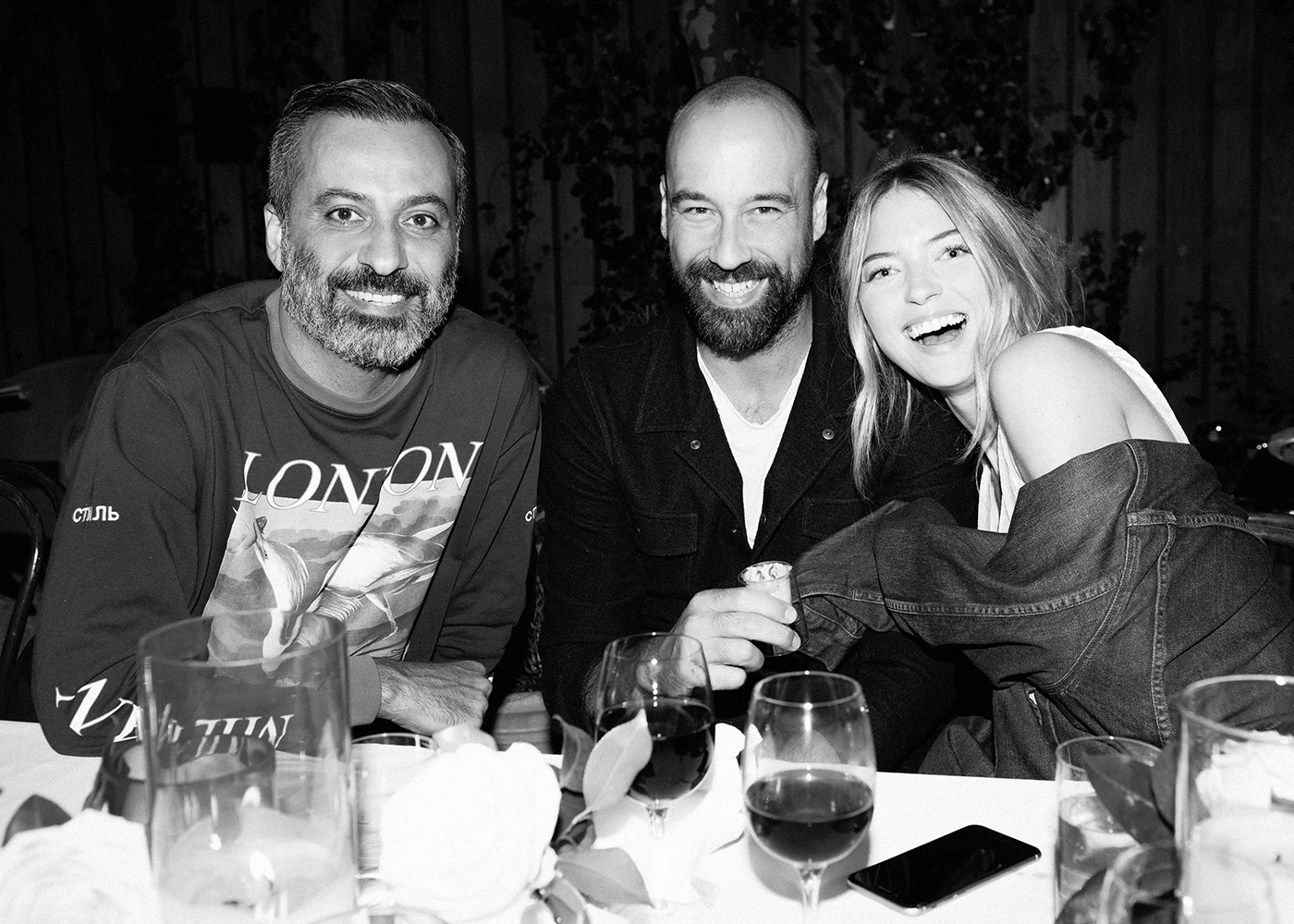 Mazdack Rassi, Jason McDonald, Martha Hunt