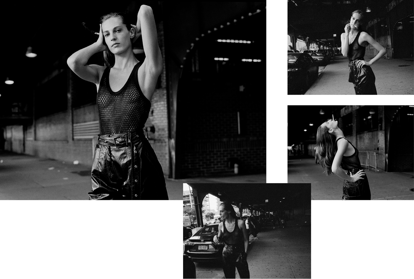 Tank top by Python. Trousers by Proenza Schouler.
