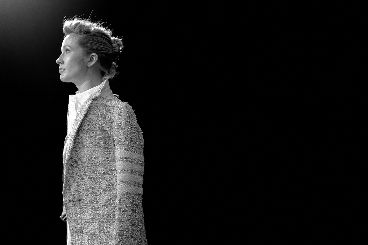 All clothing by Thom Browne.