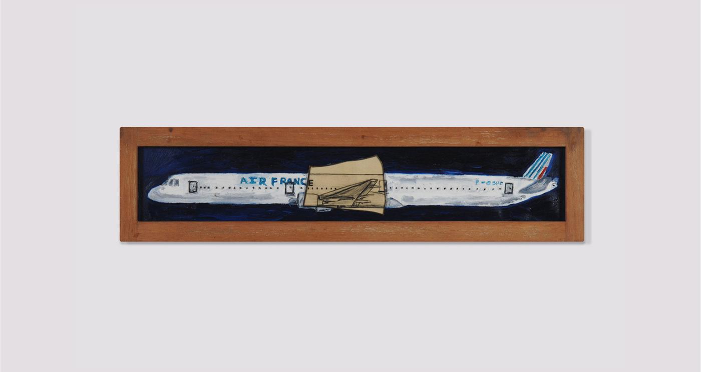 Vahakn Arslanian, 'Boeing 777, Air France, F-SPG,' 2009.