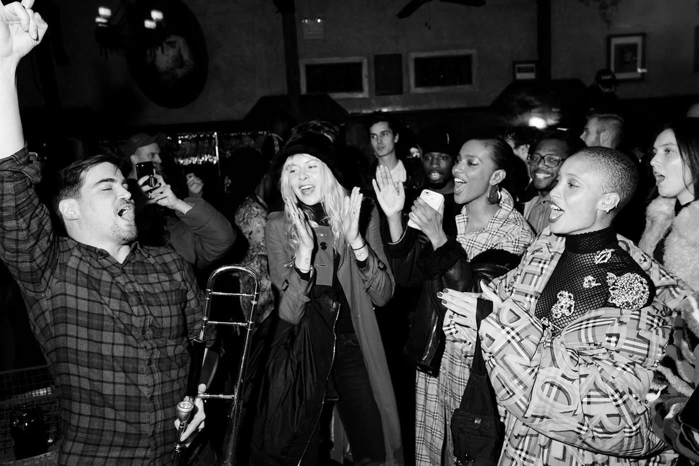 High & Mighty Brass Band, Octavia Calthorpe, Alewya Demmisse, Adwoa Aboah