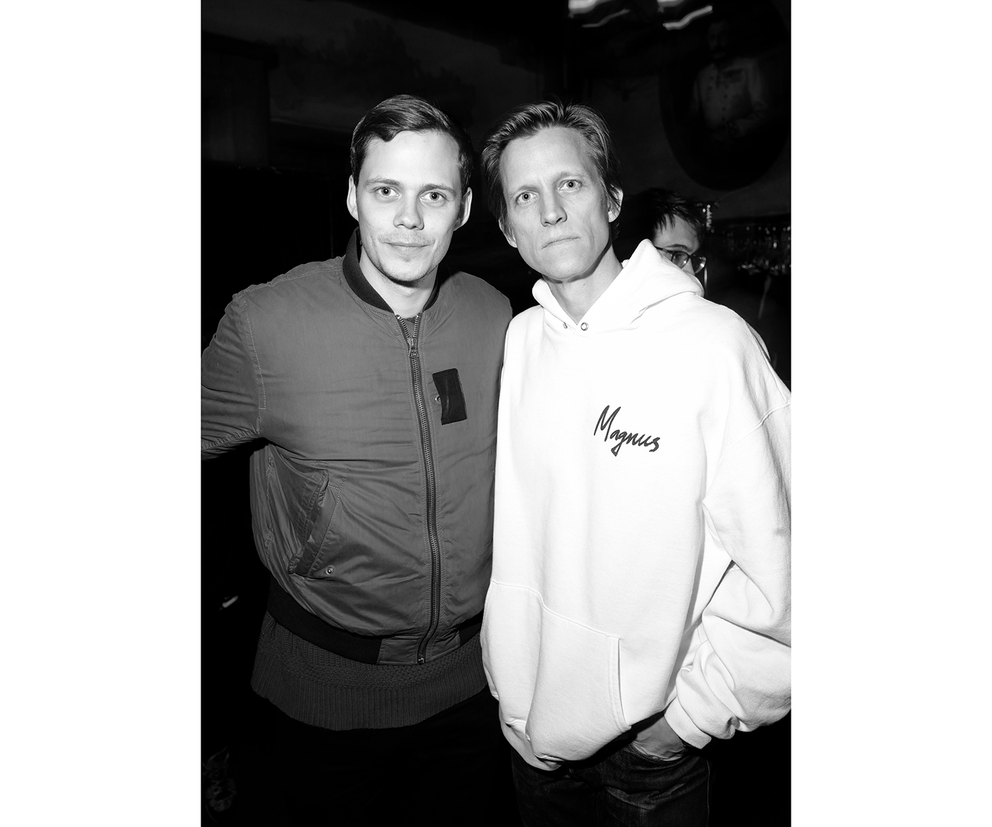 Bill Skarsgård and Magnus Berger