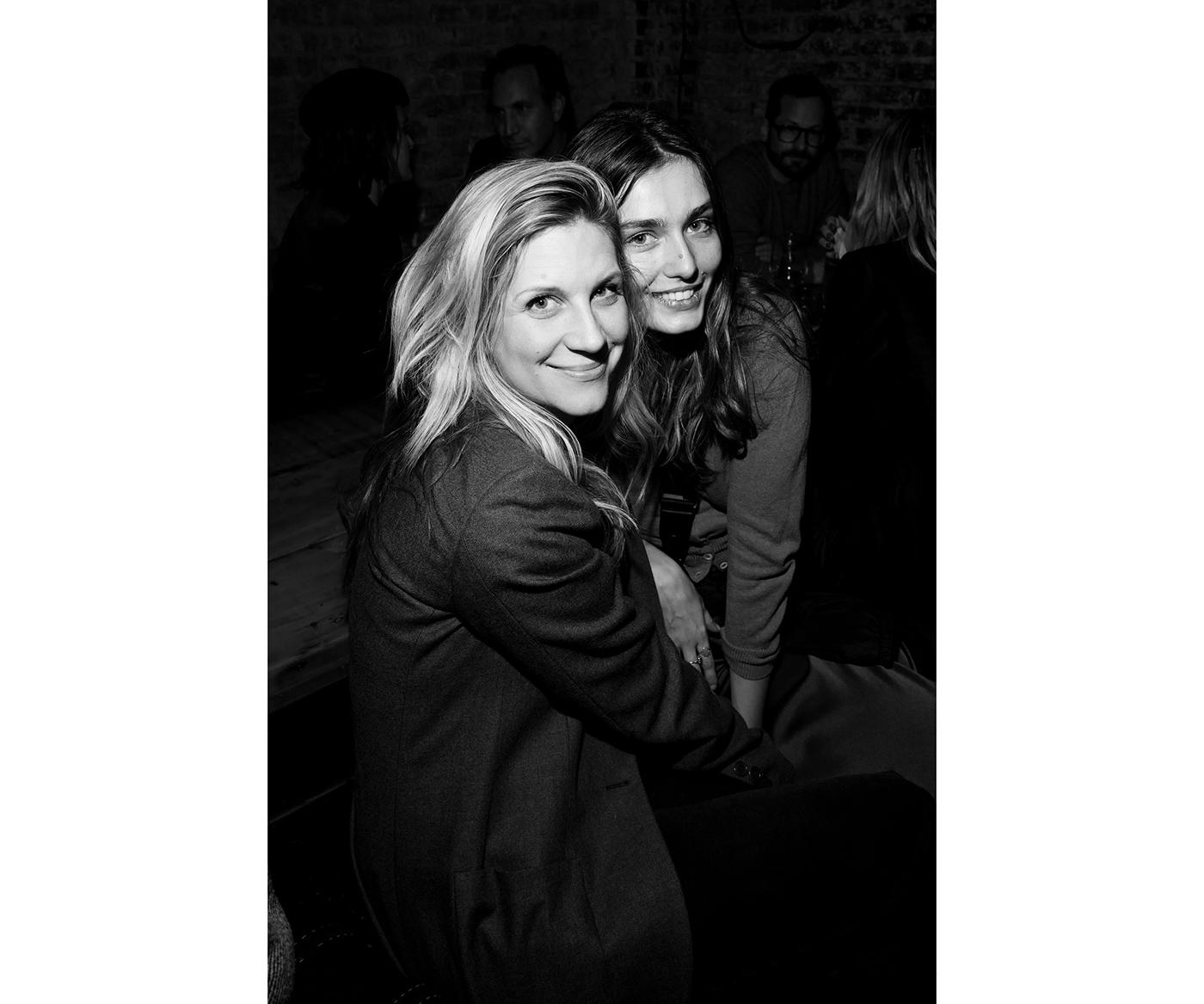 Kristina O'Neill and Andreea Diaconu