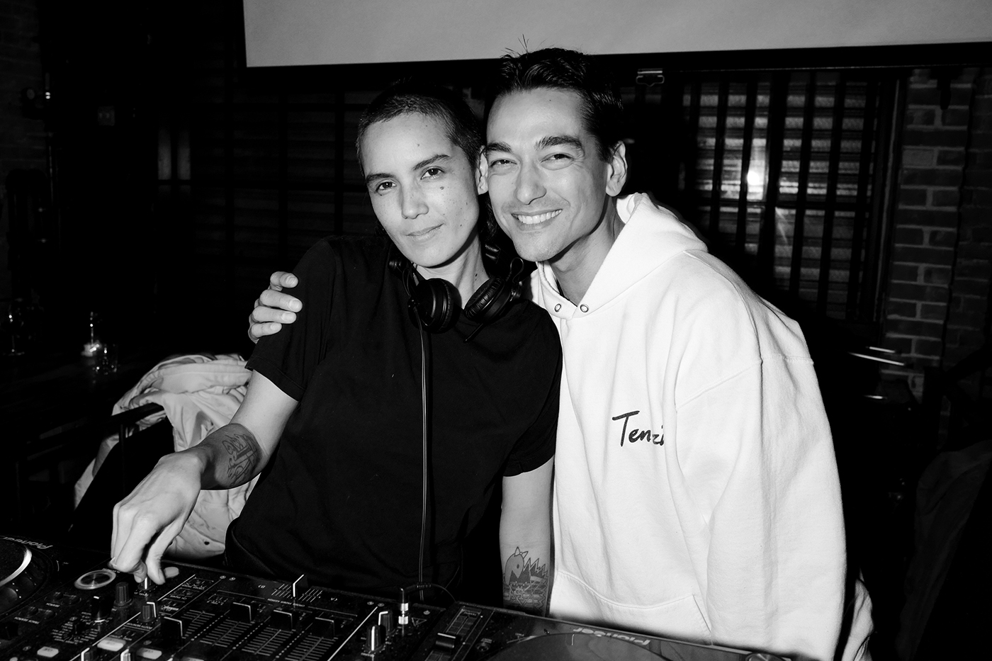 Kim Ann Foxman and Tenzin Wild