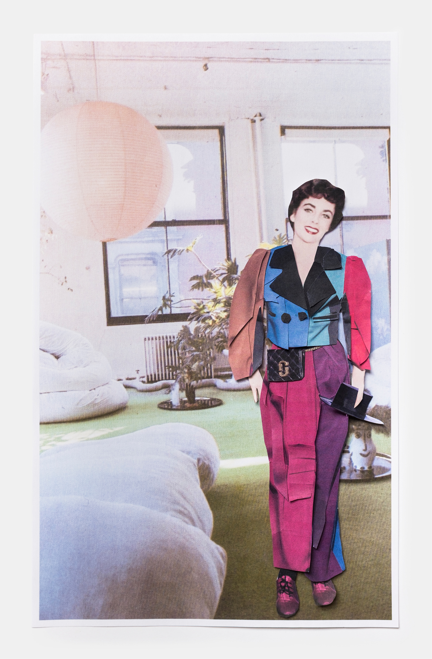 Elizabeth Taylor in Marc Jacobs