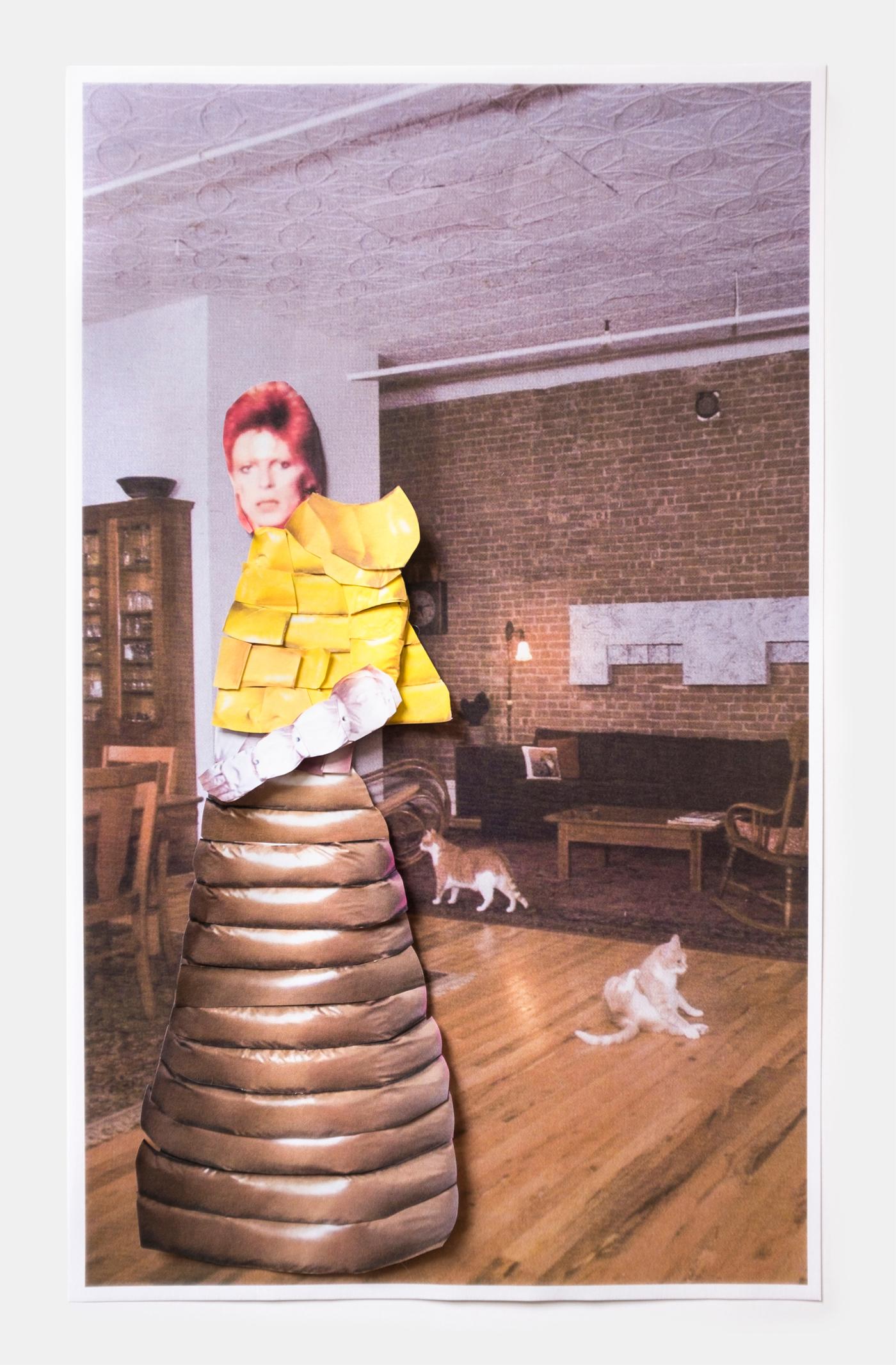David Bowie in Moncler 1 Pierpaolo Piccioli