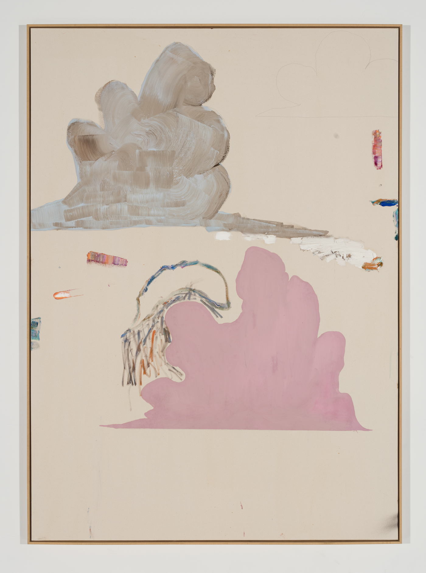 Benoît Maire, 'Cloud Painting,' 2017. Courtesy of the artist and Arsenal Contemporary, New York. Photography by Richard-Max Tremblay.