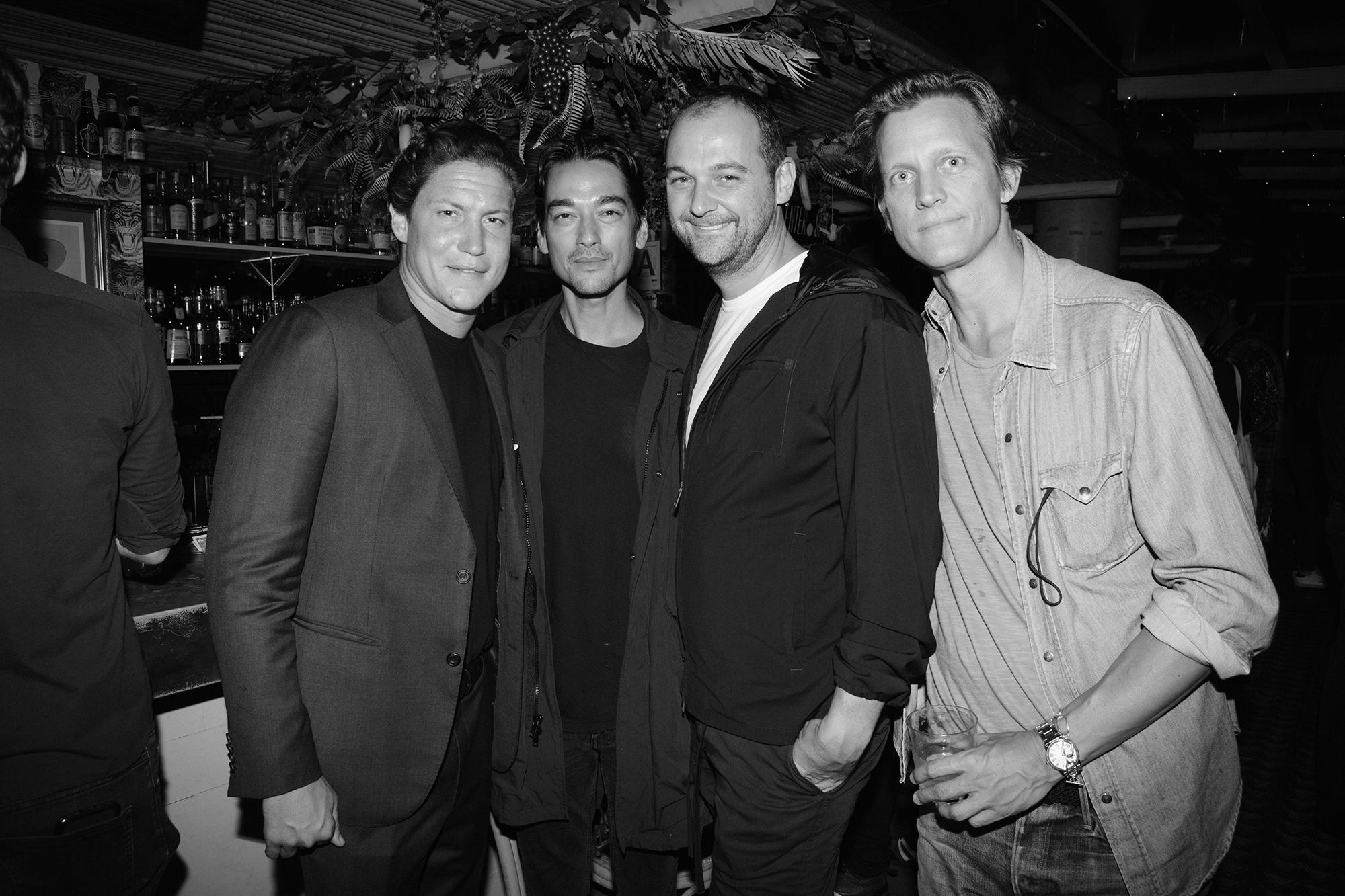 Vito Schnabel, Tenzin Wild, Daniel Humm, and Magnus Berger