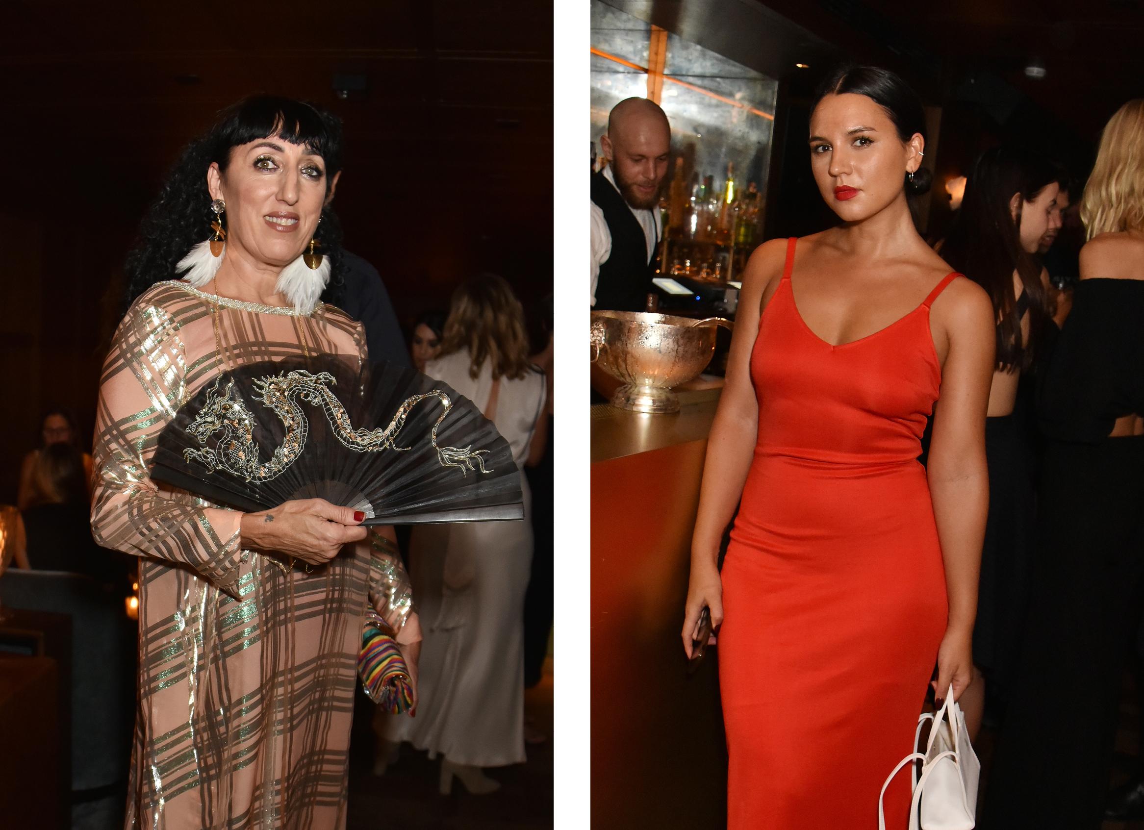 Left: Rossy de PalmaRight: Phoebe Lovatt