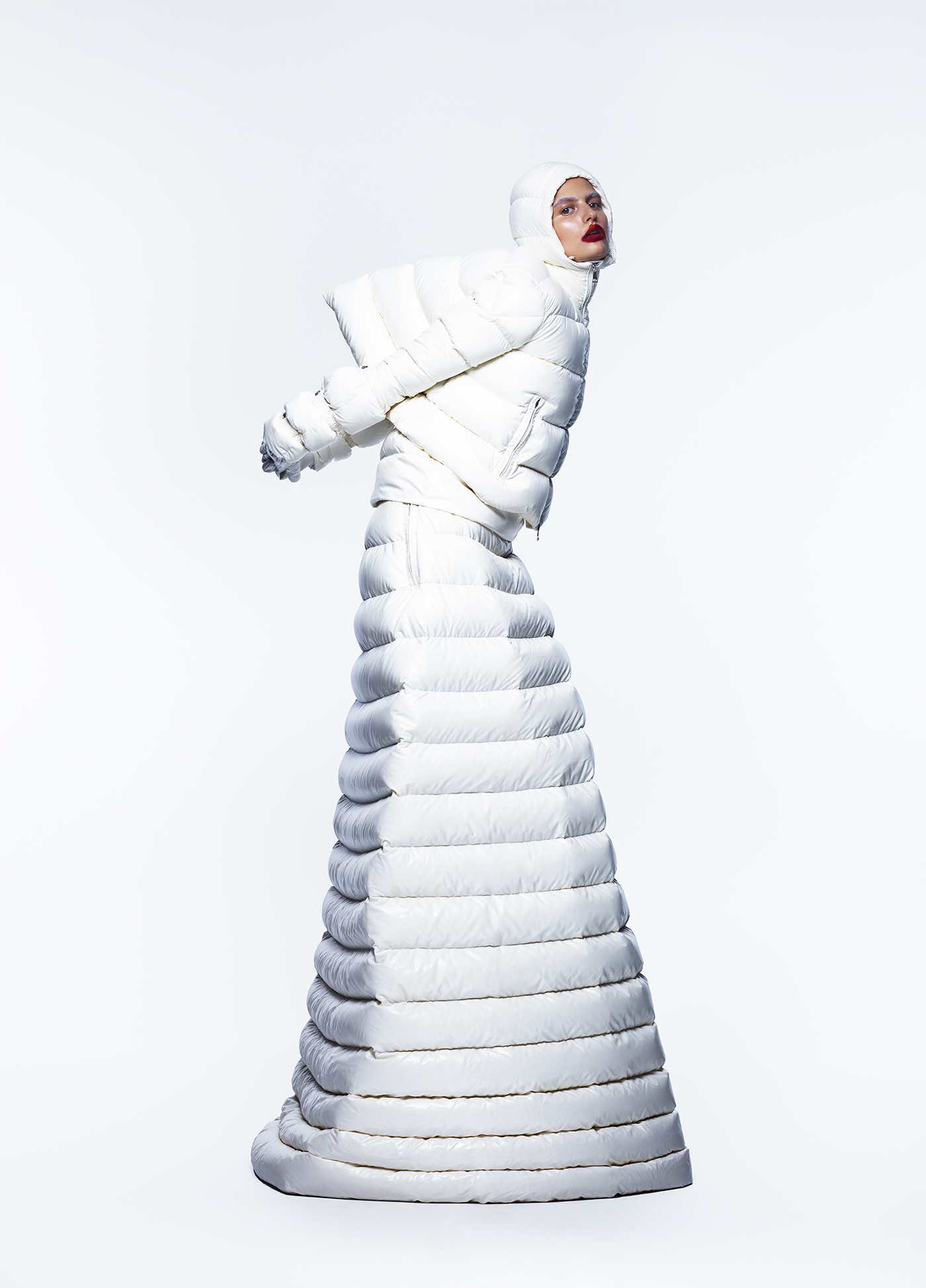 All clothing by Moncler 1 Pierpaolo Piccioli.