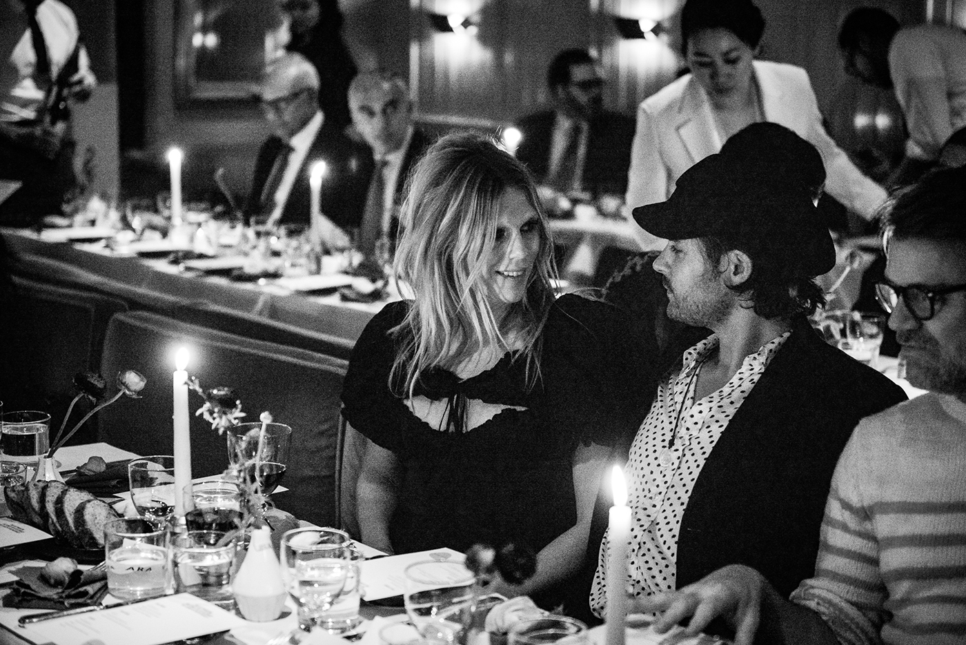 Alexandra Richards and Jacques Naude