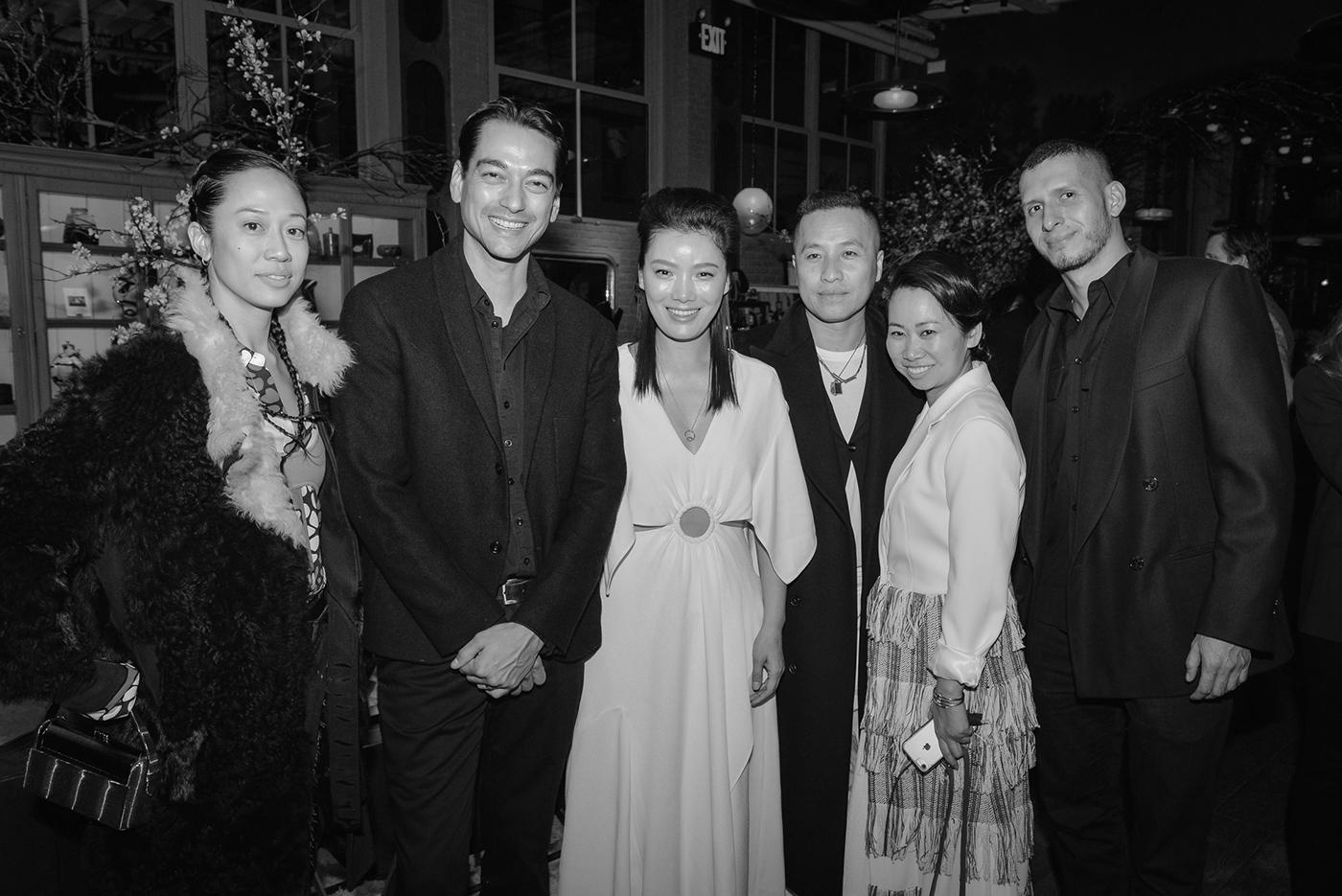 Kim Bui Kollar, Tenzin Wild, Lisa Qi, Phillip Lim, Wen Zhou, and Victor Hernandez
