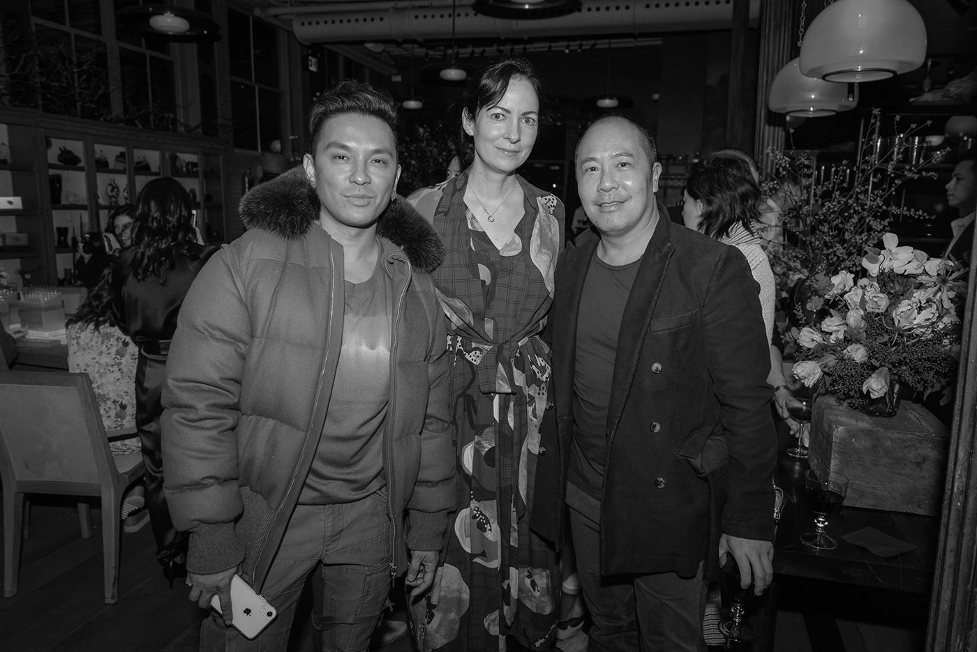 Prabal Gurung, Kerry Diamond, and Derek Lam