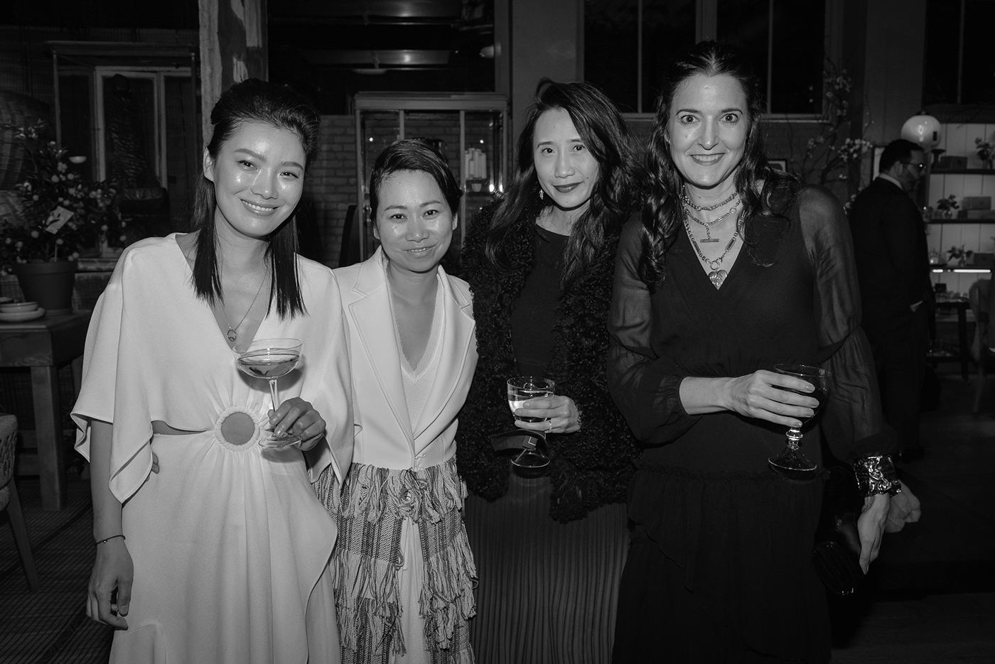 Lisa Qi, Wen Zhou, Michelle Lee, and BJ Topol