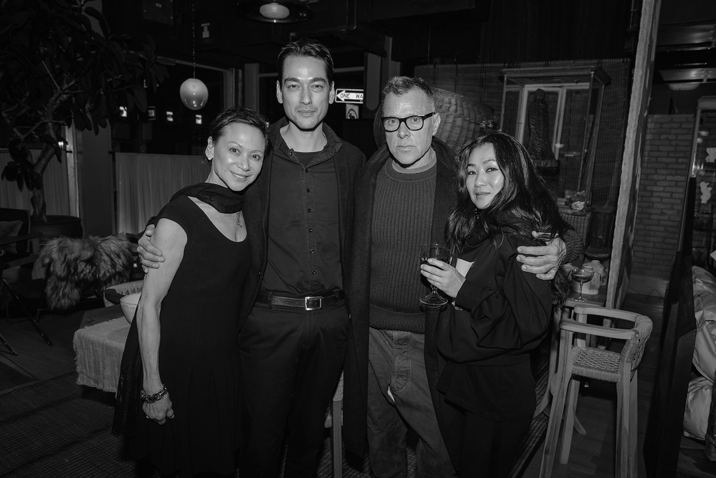 Jeannette Chang, Tenzin Wild, George Cortina, and Jae Choi