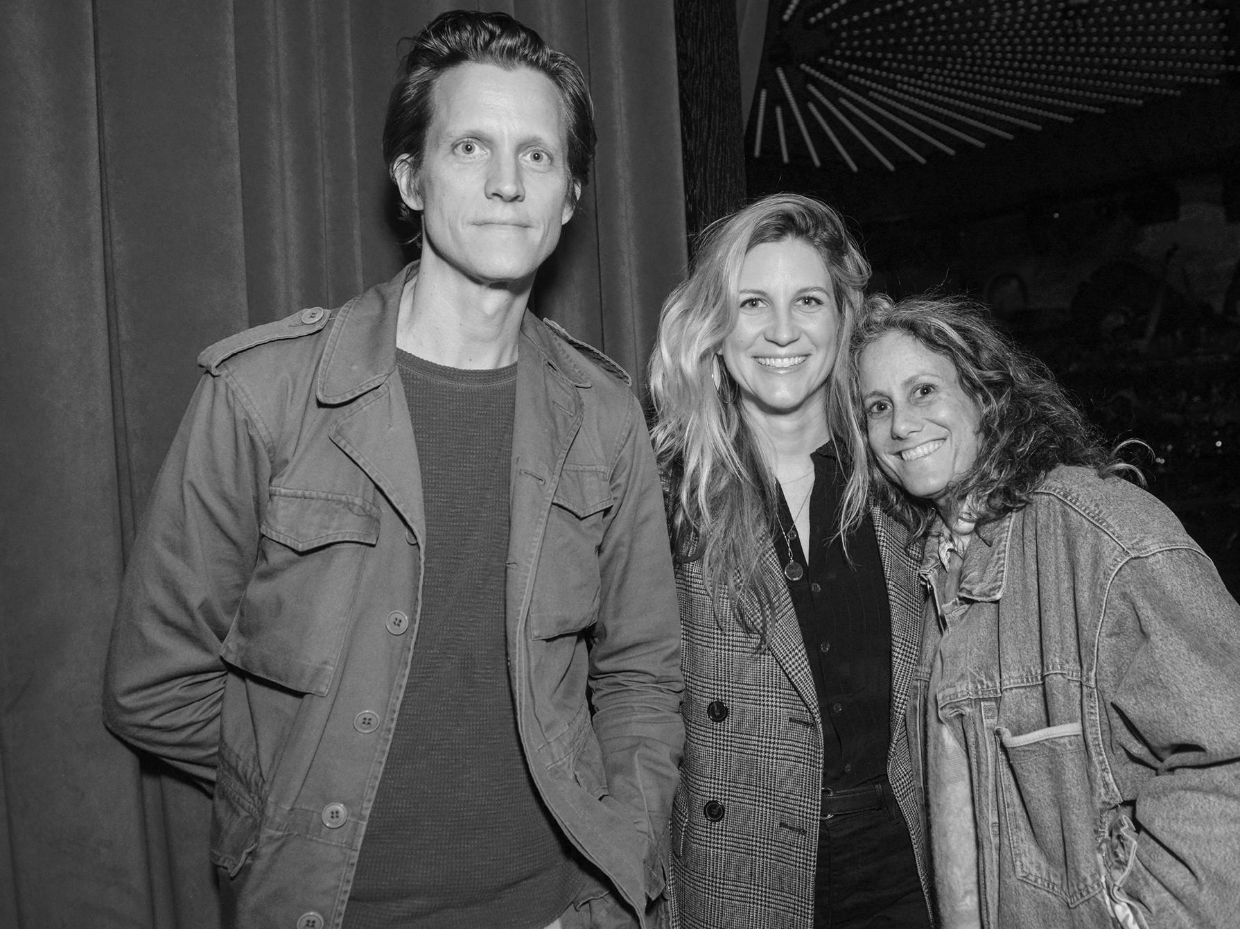 Magnus Berger, Kristina O'Neill, and Cass Bird