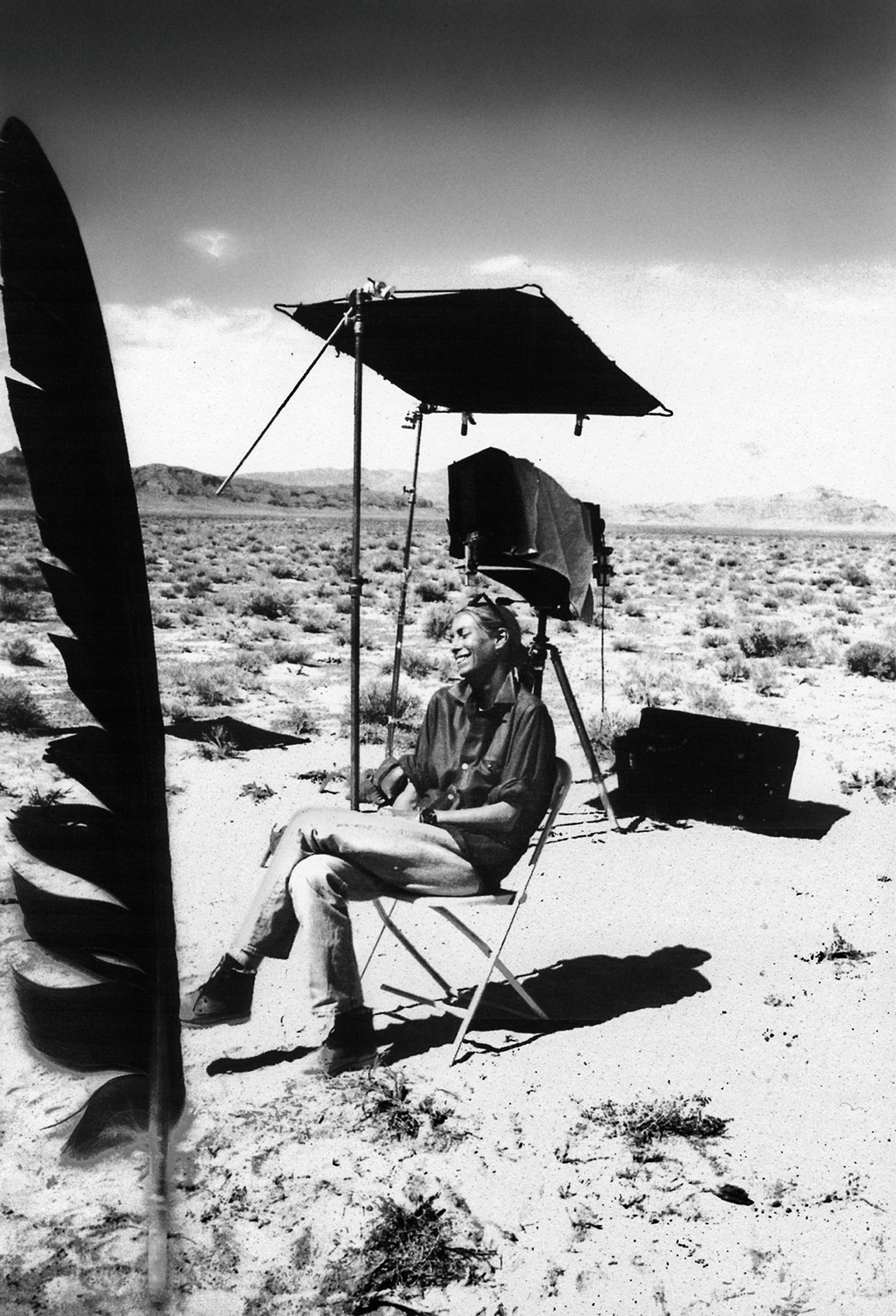 Tonne Goodman by Peter Lindbergh, Nevada, 1994