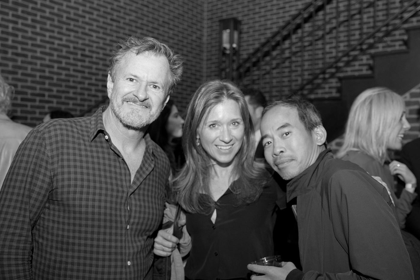 Tod Maitland, Sarah Maitland, and Peter Poopat